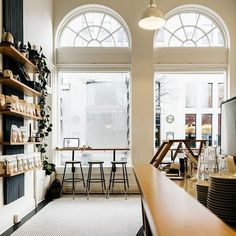 All the coffee please! Love our local go-to @passengercoffee. How do you #MondayMotivation? 📸 : Passenger Coffee . . . . . . #Monday #Coffeehouse #Design #Interiors #Minimalism #Coffee #Designhounds #Dwellonstyle #Designinspo #Butfirstco