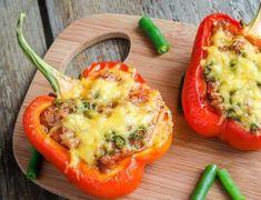 Gefüllte Paprika (Low Carb) – 2 köstliche Rezepte