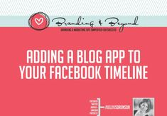 adding a blog app to your facebook timeline