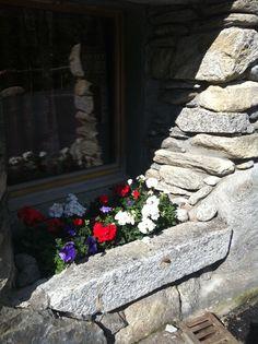 L'été dans les jardins de l'Hotel Du Jeu de Paume Chamonix