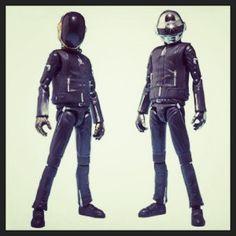 Daft Punk action figures!