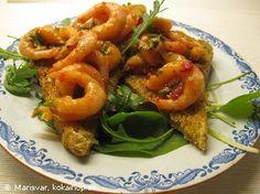 Marinerade räkor Tapas, Shrimp, Foodies, Side Dishes, Appetizers, Snacks, Meat, Desserts, Tailgate Desserts