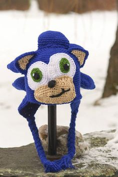 Crochet Sonic The Hedgehog Beanie Crochet Creations ...