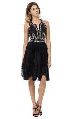 Rebecca Taylor Embellished Dress with Cut Outs - LOVE! + RT Friends and Family 25% off!