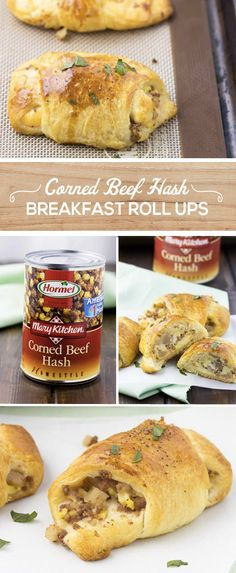 With the kids back in school and schedules becoming busier by the day, ensure that your kids are sent out the door in the morning with a hearty breakfast filled with protein-packed ingredients. To make these easy Corned Beef Hash Breakfast Roll-ups, fill up crescent roll dough with American cheese, MARY KITCHEN® Corned Beef Hash and scrambled eggs. Your family will love this grab-and-go breakfast!