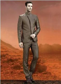 CBazaar Modern Pent Coat New Collection 2014 For Men (1)