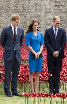 British Royals Visit the Tower of London. Duke of Cambridge Duchess of Cambridge Prince Harry