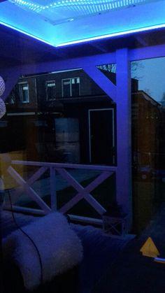 Led verlichting Veranda lichtkoepel