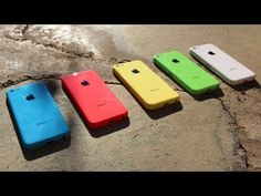 New iPhone 5C Unboxing: 5 Lower-Cost iPhone Color Rear Shells
