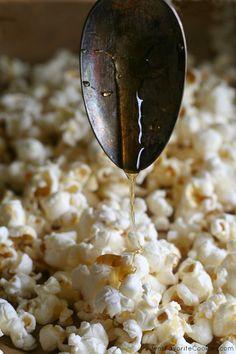 Honey Butter Popcorn #barsnacks