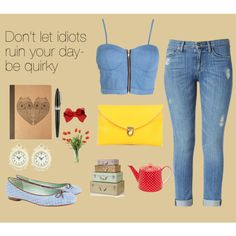 """""""Be Quirky"""" by looksmart-info on Polyvore"""