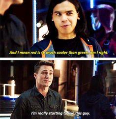 Arrow - Cisco and Roy #3.8 #Season3