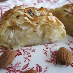 Typical Dutch dessert with almond filling! I have to try, try different things for dutch baking thing.
