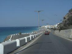 Down to Rhodos town (ialysos highway)
