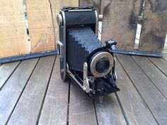 Vintage Agfa Captain Bellow Camera PD 16 by salvageandco on Etsy, $55.00