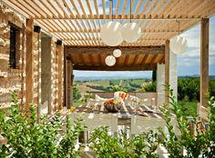 Ca Mattei Beautiful Villa Rental In Le Marche Italy For 11 People Terrace