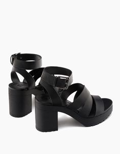 High heel strappy sandals. Discover this and many more items in Bershka with new products every week