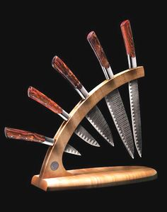 William Henry- cool knife display rack