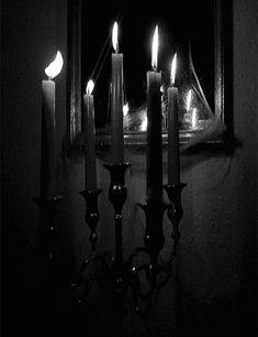 Indo além da caixinha: A procura da Luz velas - gif
