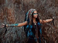 ...Free Falling... Find 90+ Indian headdresses at http://indianheaddress.com/