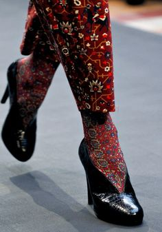 Hermès Tabriz collection, inspired by Persian rugs 2013