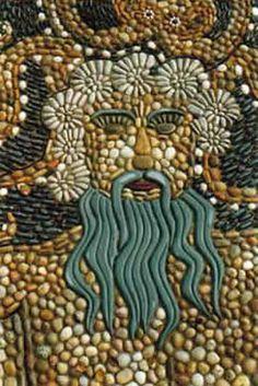 pebble mosaic - Maggy Howarth - Cobblestone Designs