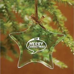 Prepare your clients for the holiday season ahead with Promotional star shaped jade glass ornaments! #promotionalproduct #glassdecor #freeshipping