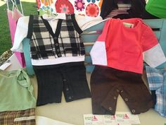 """We were in Radium BC this part weekend exhibiting at """"Market on Main"""" - what a success! Our Baby, Onesies, Success, Boys, Jackets, Fashion, Down Jackets, Moda, La Mode"""