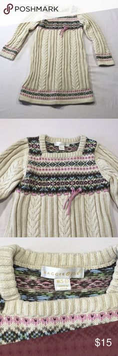 Maggie & Zoe Sweater Dress Size M 5-6 Good pre-loved condition. Some pilling from washing. Heavy weight, great for winter. Maggie & Zoe Dresses Casual