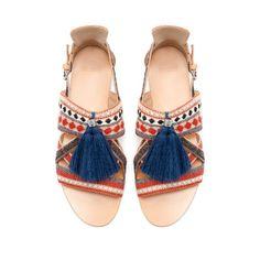 SANDALIA BORLA - Zapatos - Mujer | ZARA España