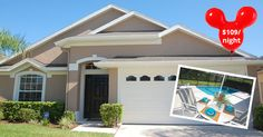 A luxurious 3 bedroom private pool home only 15 minutes from Disney World.