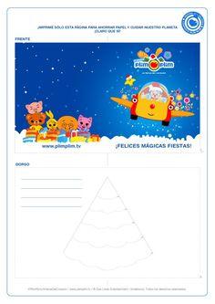 ¡Imprime y arma tu propia tarjeta mágica y compártela con tus amigos! ¡CLARO QUE SÍ!