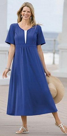 Sewing – lillia Lilia Gutierrez – Join the world of pin 50 Fashion, Plus Size Fashion, Womens Fashion, Beautiful Summer Dresses, House Dress, Mode Hijab, Linen Dresses, African Dress, Dress Patterns