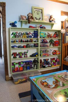 the best way to organize toys, bedroom ideas, organizing, shelving ideas, storage ideas