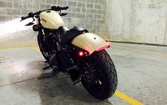 Custom Harley Davidson Sportster Iron 883.