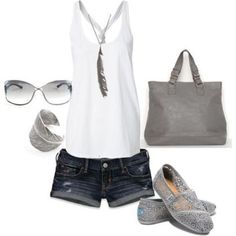 Summer Breeze Outfit With Short Pans Ideas 23 #summerfashions,
