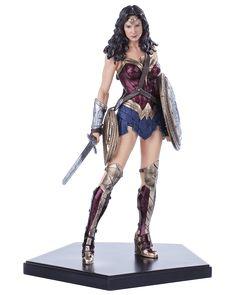 Estátua Mulher Maravilha ( Wonder Woman ) - Batman vs Superman Dawn of Justice - Art Scale 1/10 - 18 cm - Iron Studios | Comic Store Brasil