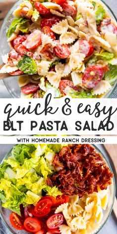 Hypoallergenic Pet Dog Food Items Diet Program Bring This Blt Pasta Salad To Your Next Potluck Or Bbq Party, And Youll Be The Star Of The Buffet Made With All The Classic Blt Sandwich Ingredients, Its A Quick And Easy Side Thats Sure To Impress. Blt Pasta Salads, Pasta Salad Italian, Pasta Salad Recipes, Blt Salad, Potluck Salad, Pasta Side Dishes, Pasta Sides, Bacon Recipes, Cooking Recipes