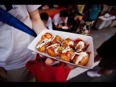 Korea Street Food -  Tempura and Teriyaki
