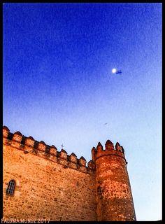 Torre del Palacio de los Duques de Feria Zafra, Badajoz. Tower of the Palace of the Dukes of Feria Zafra, Badajoz .