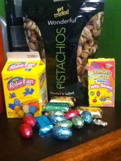 Adriana_Ibarra1: My Easter gift! I'm loved! #Pistachios #Chocolate pic.twitter.com/GaEUDhsFAe