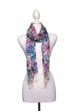 Dressing Your Truth - Type 2 Floral Revery Scarf