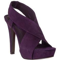 DIANE VON FURSTENBERG Zia Plum Suede   Did I mention I LOVE purple?!?