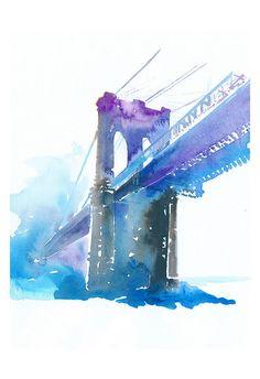 Hey, I found this really awesome Etsy listing at https://www.etsy.com/listing/175057758/new-york-print-new-york-skyline-brooklyn