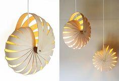 Nautilius lamp from Unless