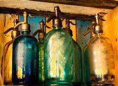 Set of Soda Bottles