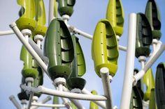 El árbol del viento. Turbinas silenciosas para ciudades / EcoInventos.com