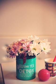 DIY. KUSMI TEA VASE