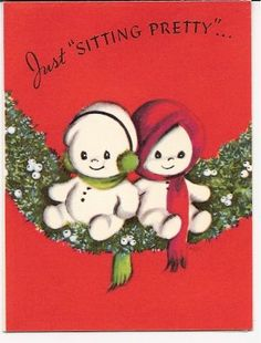1940s Christmas card. :3