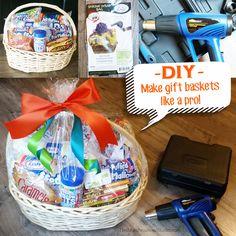 DIY - Make perfect gift baskets like a pro
